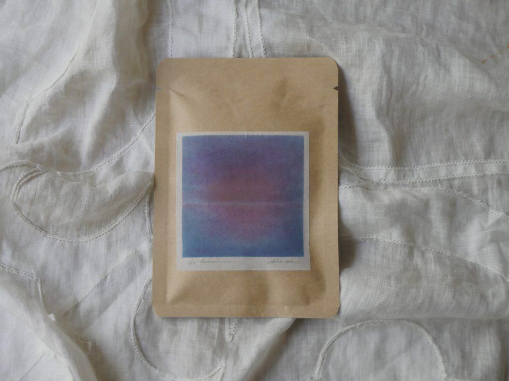 バイオレットのお茶の写真