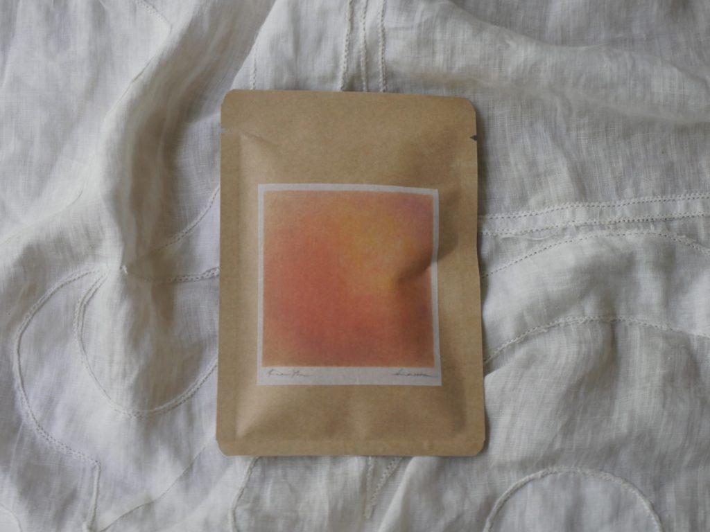 オレンジのお茶の写真