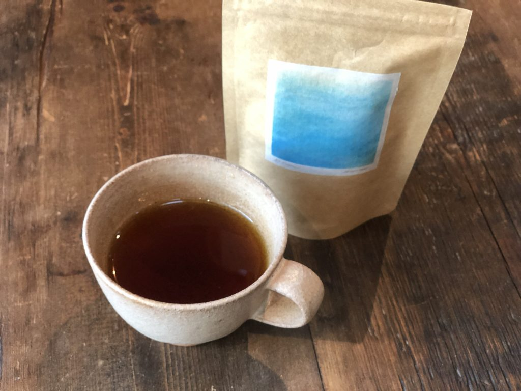 ブルーのお茶